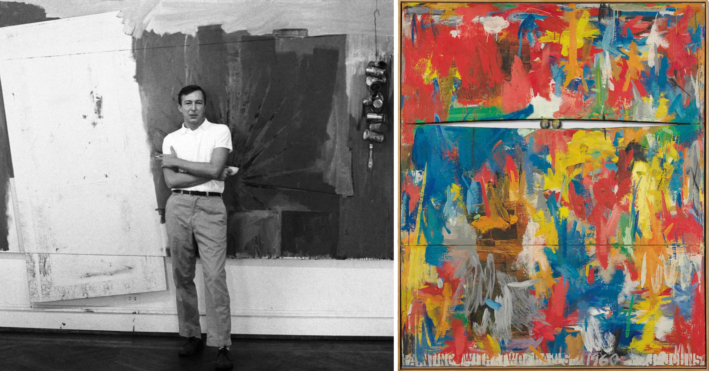Reinventing Jasper Johns