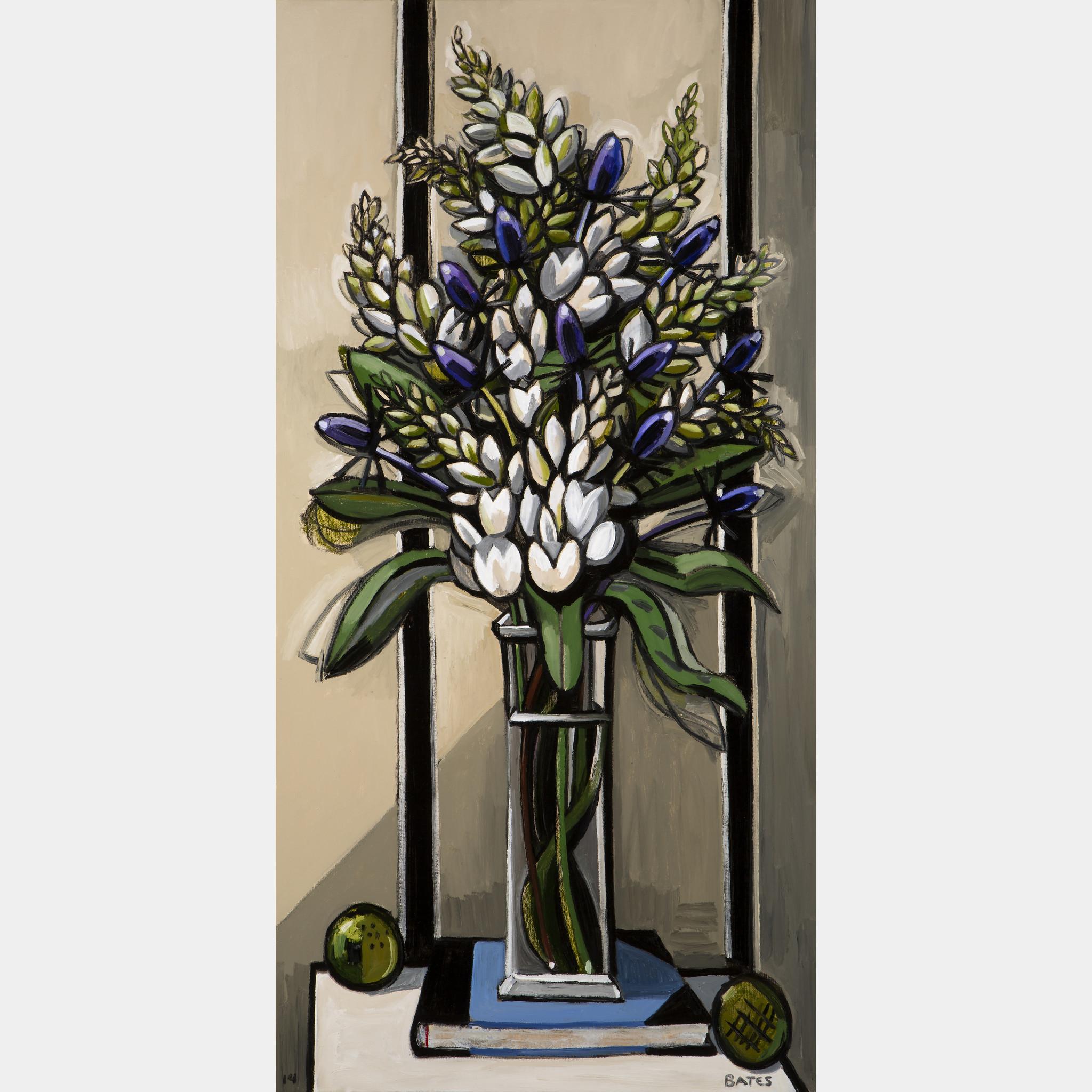 David bates white flowers and thistles art basel mightylinksfo
