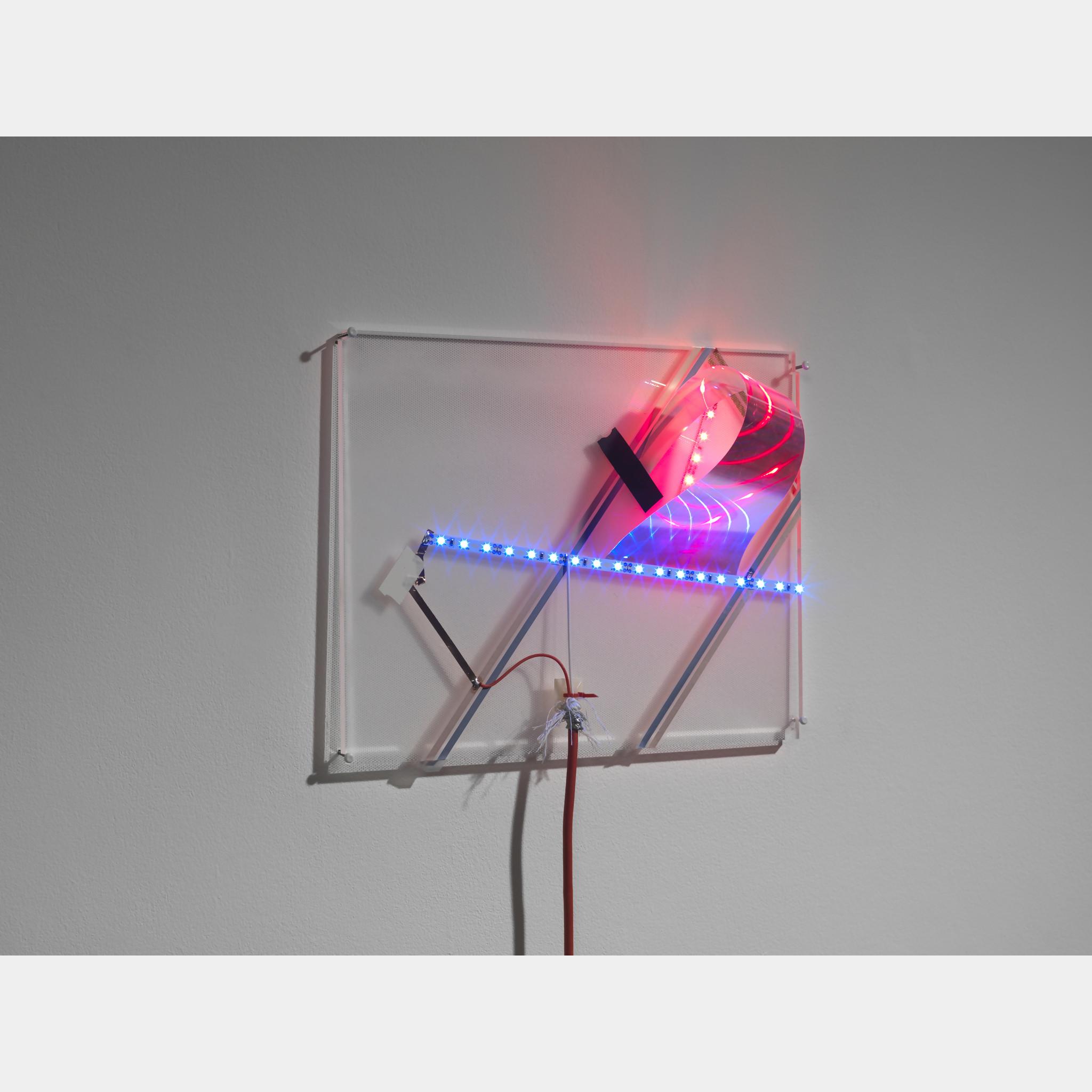 Haroon Mirza Led Circuit Composition 8 Art Basel Ledcircuit