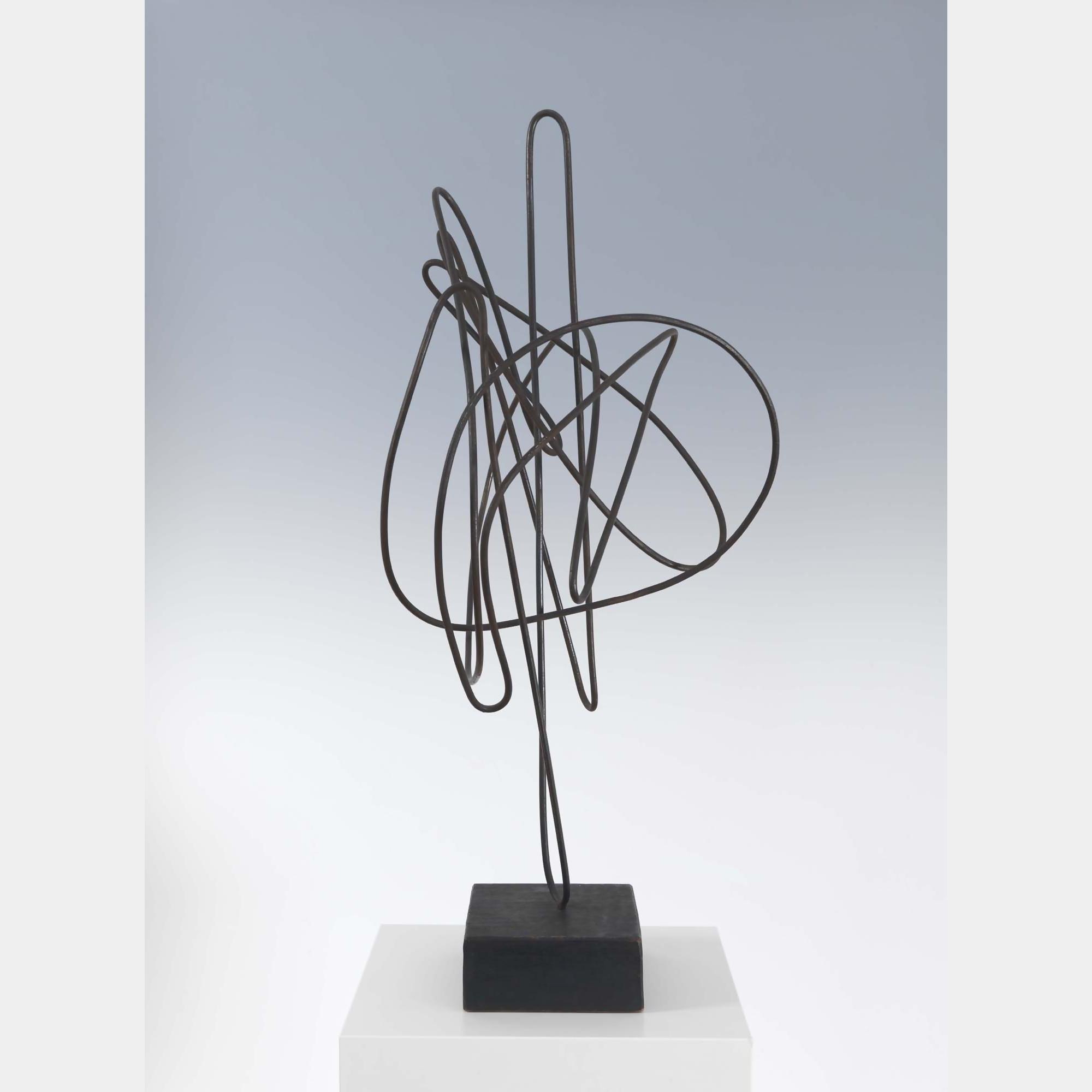 Hans Uhlmann | Draht-Plastik (wire sculpture) | Art Basel