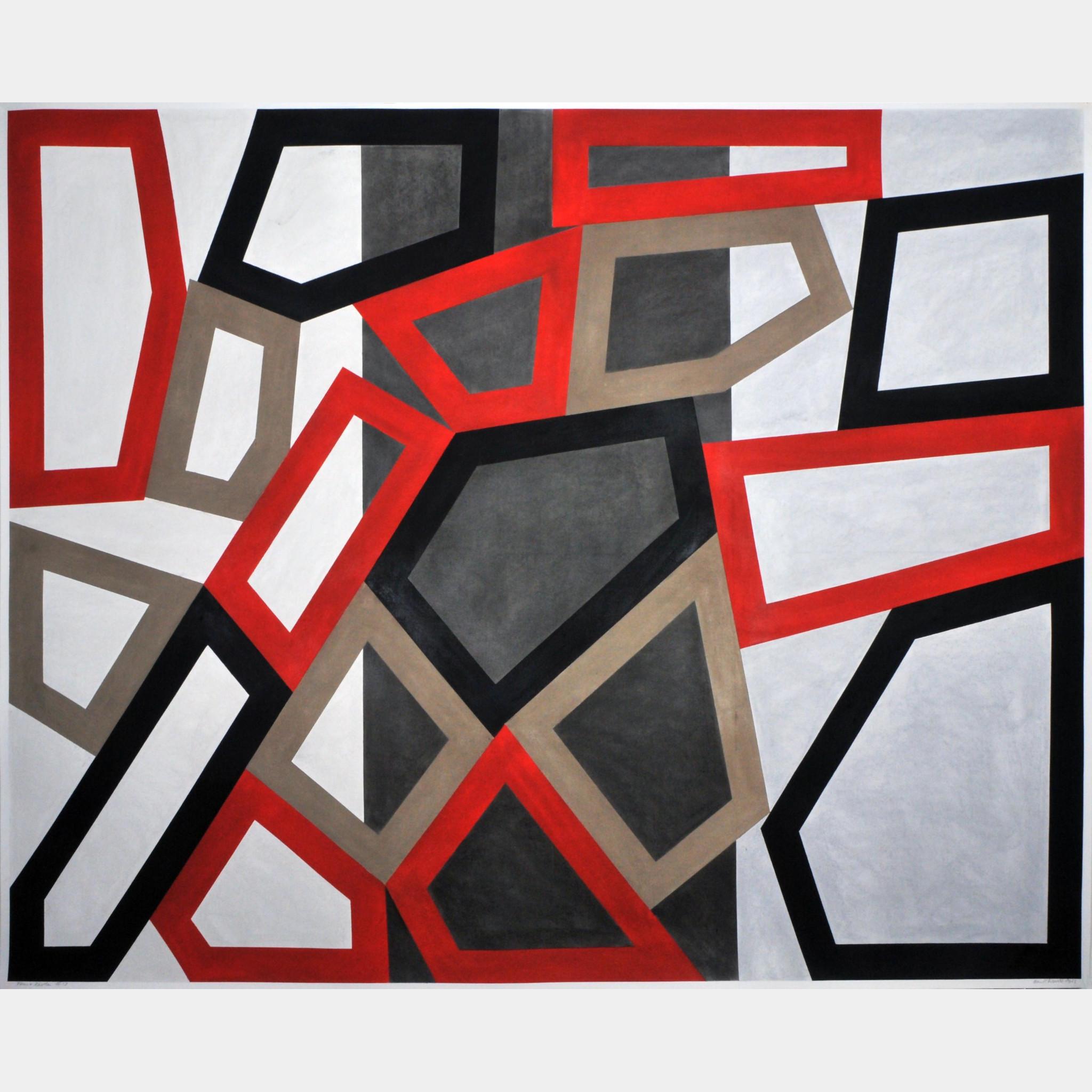 david tremlett | form and rhythm #13 | art basel