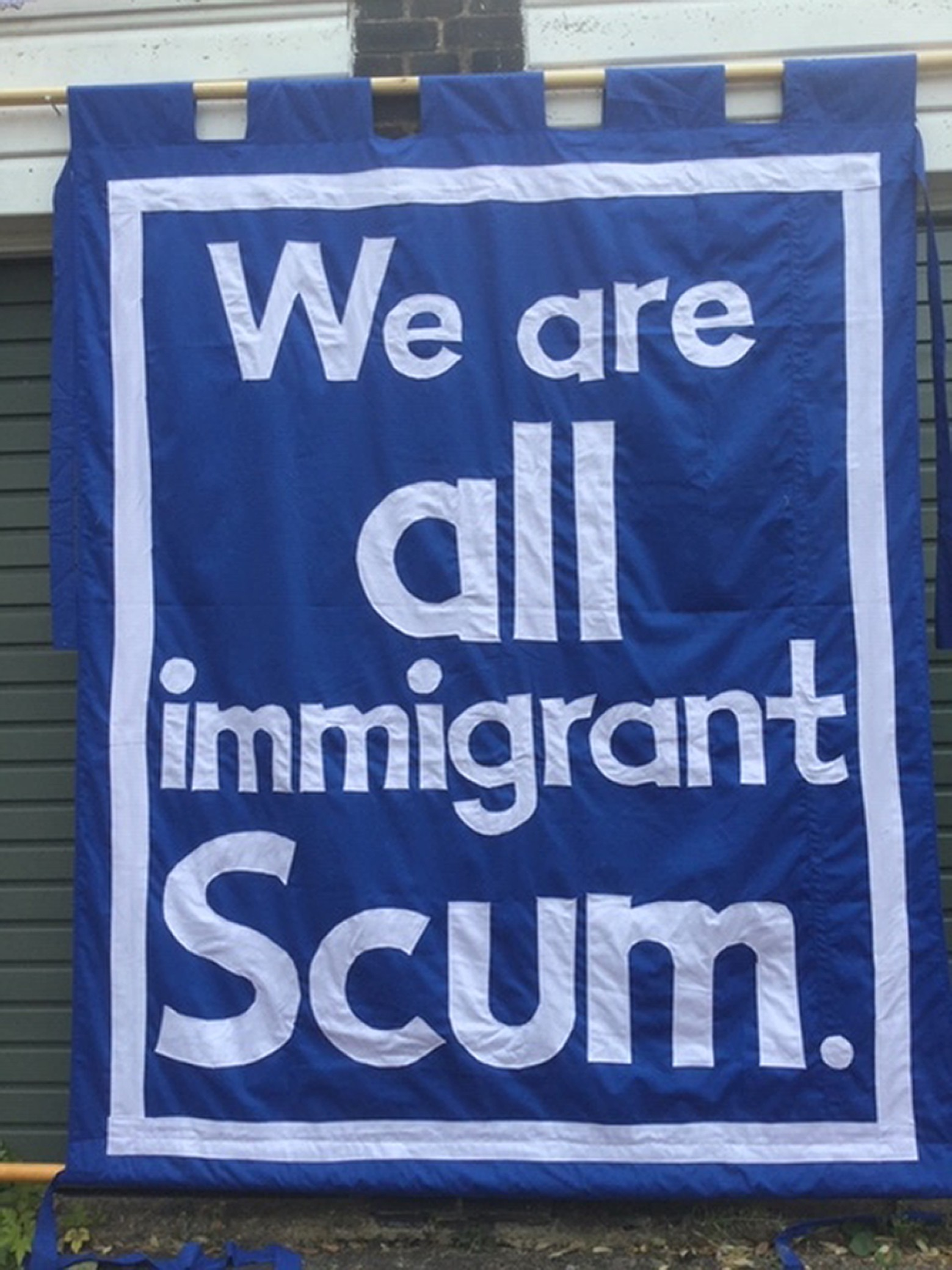 Jeremy Deller | We're all immigrant scum | Art Basel