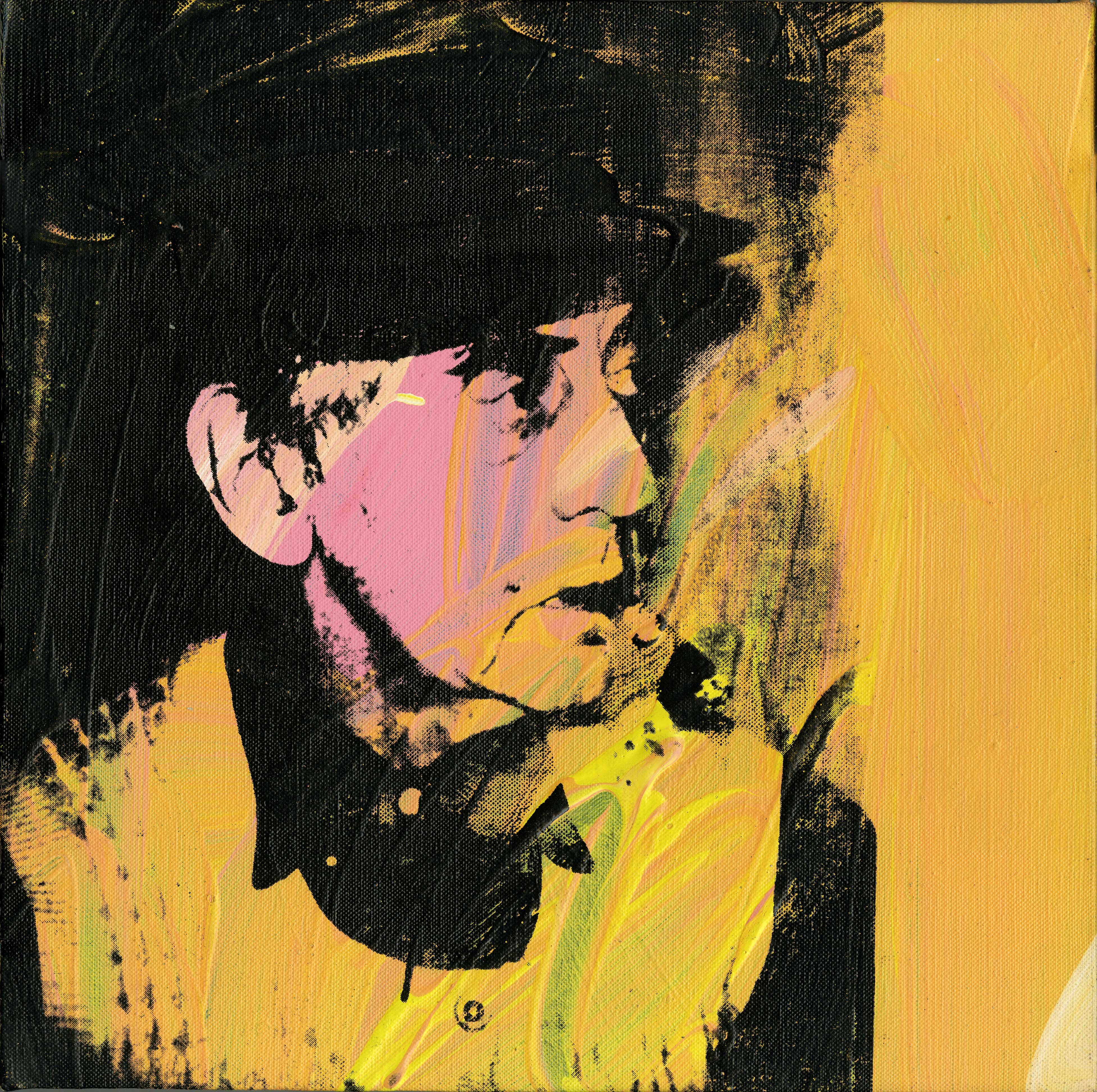 Andy Warhol | Portrait de Man Ray | Art Basel