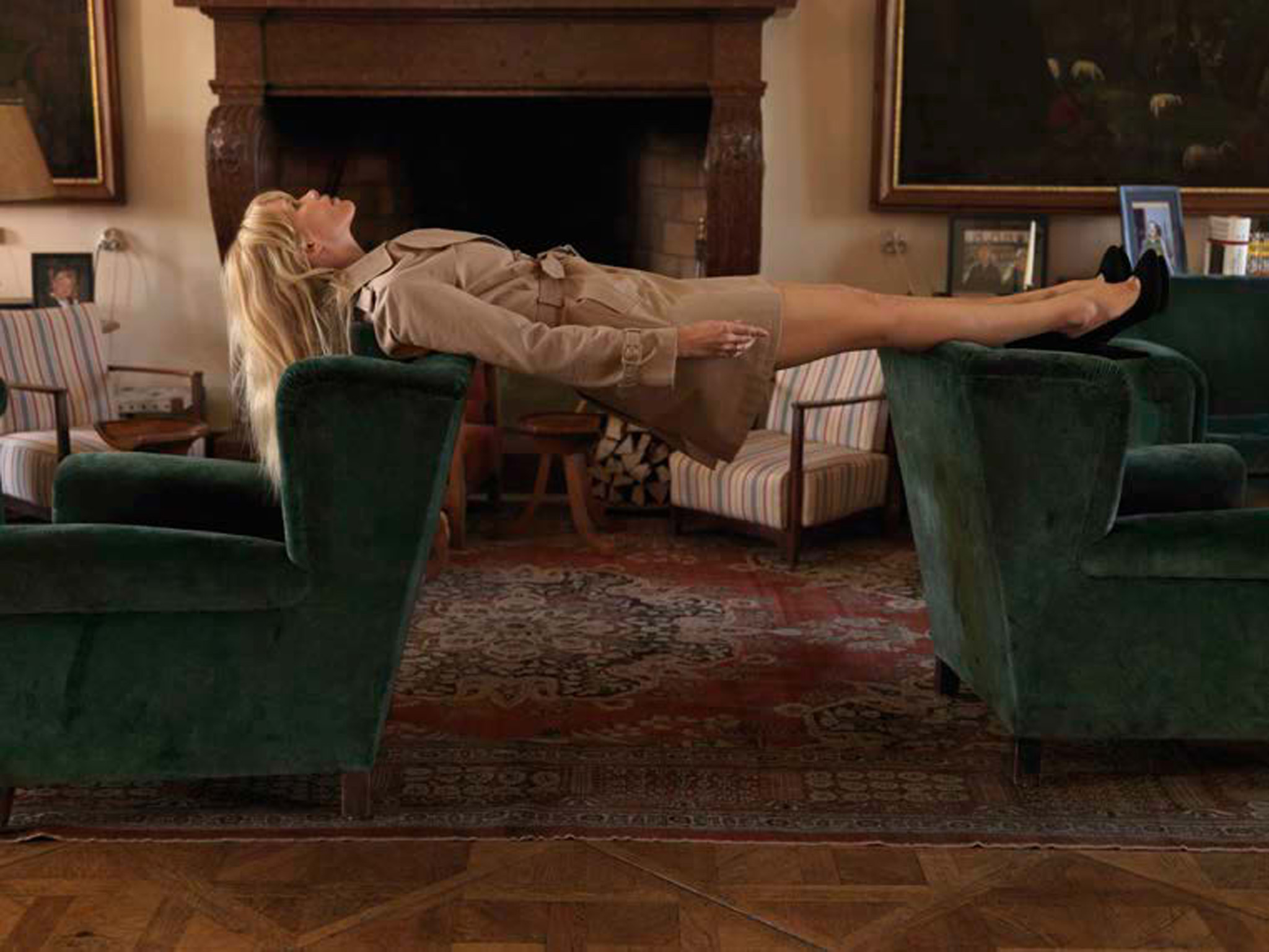 Erwin Wurm Untitled From The Series Claudia Schiffer 2009