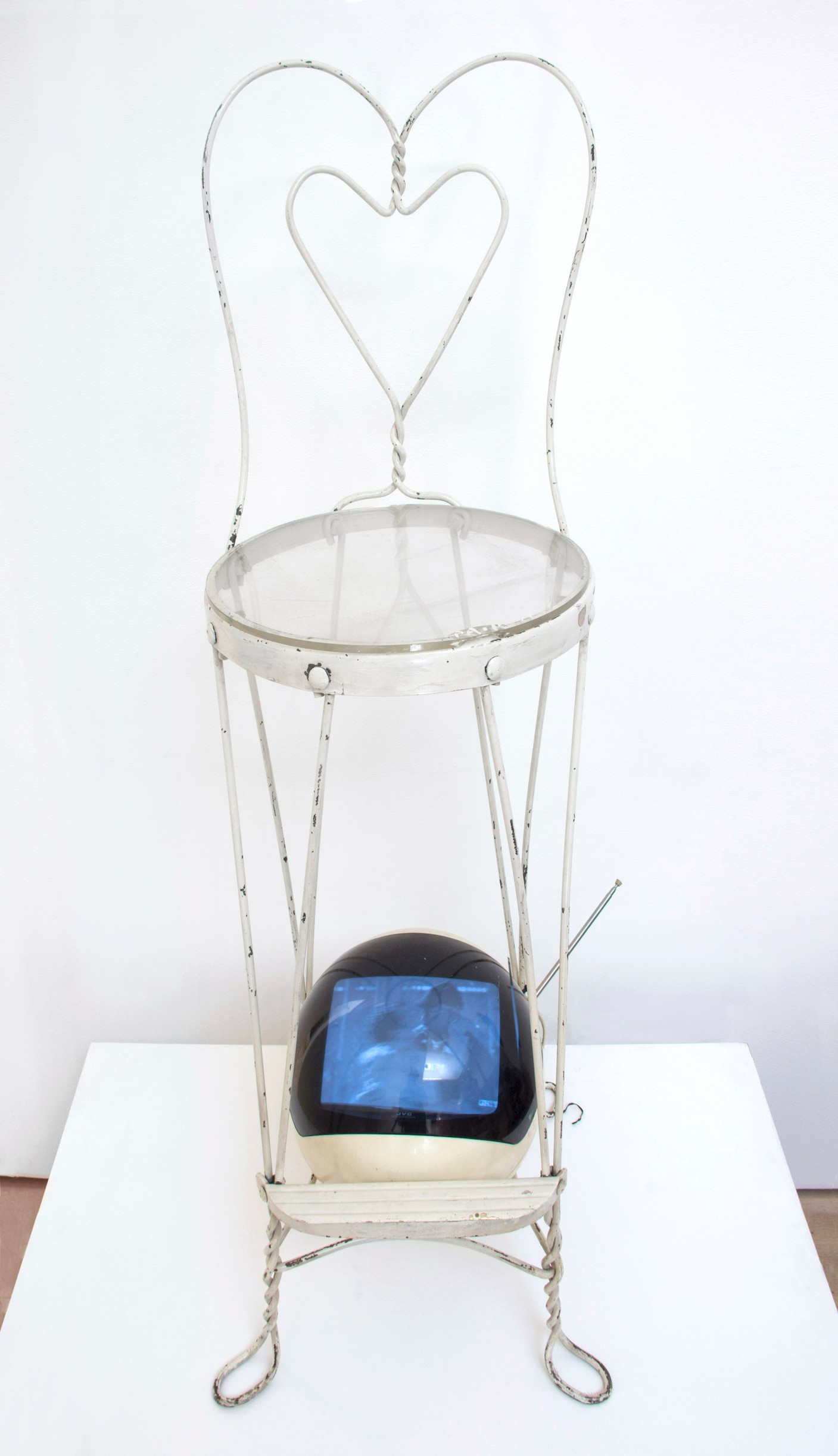 Nam June Paik Tv Chair 1973