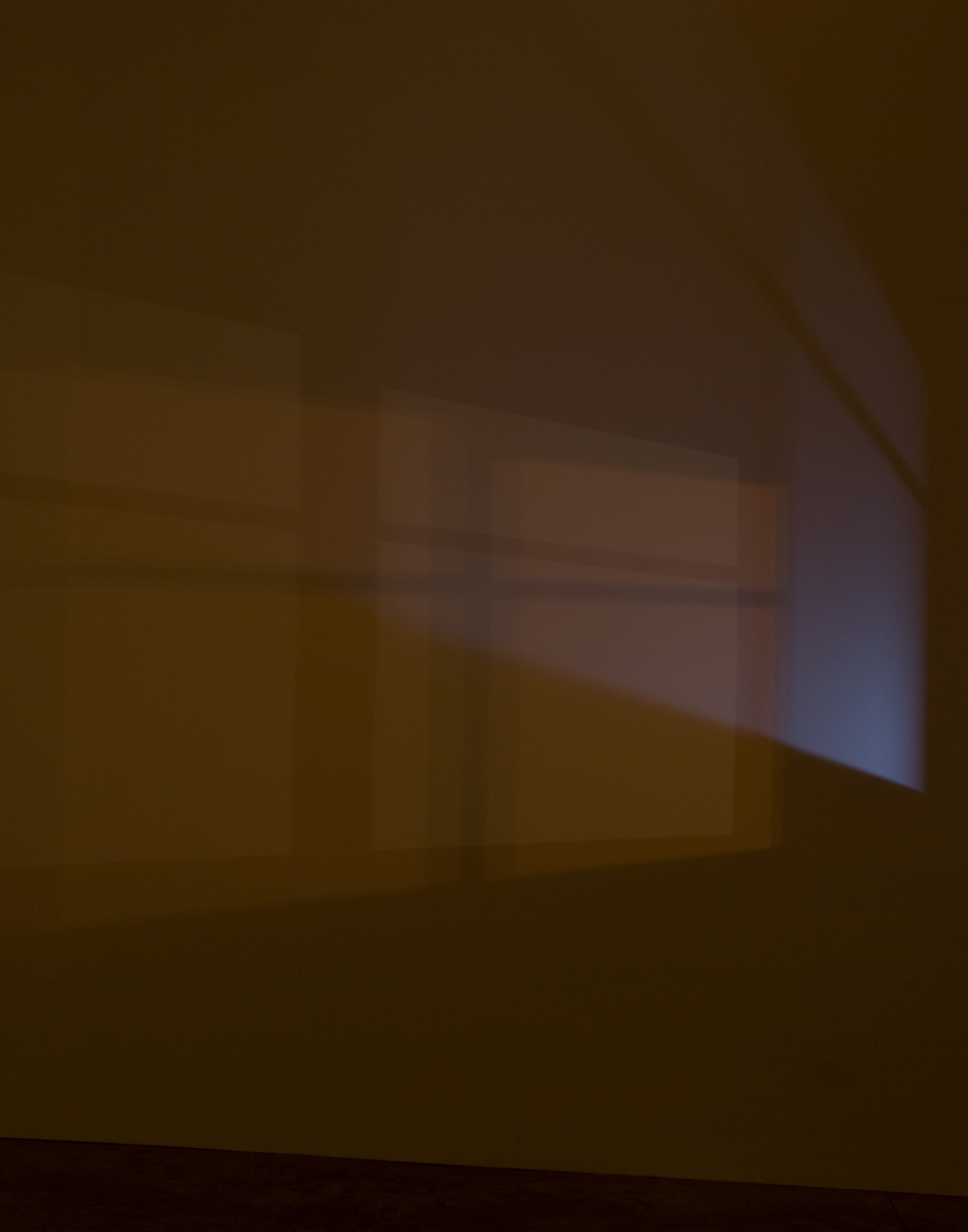 Light In An Empty Room Studio Wall At Night 2015 By Spencer Finch