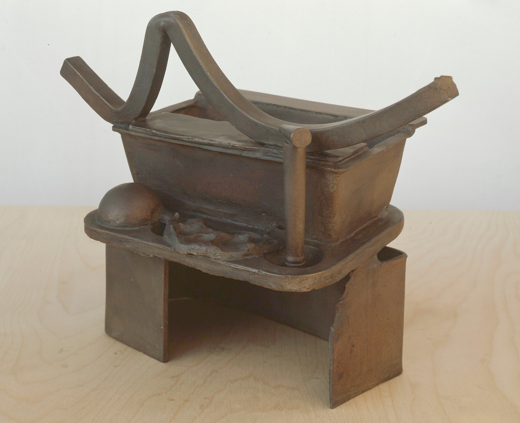 Anchor Zone (Table Bronze), 1989   1990 By Anthony Caro