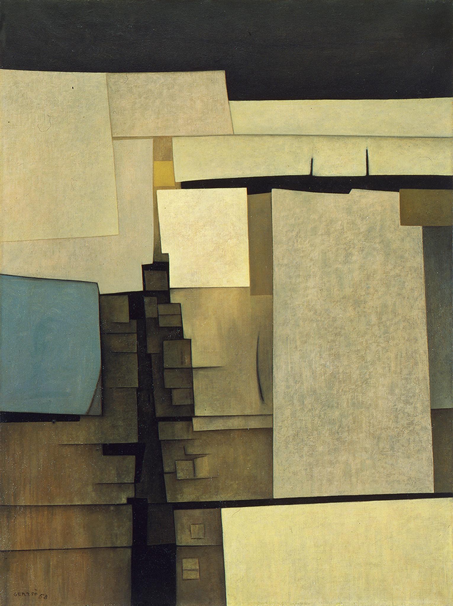 Gunther Gerzso | Untitled, 1958 | Art Basel
