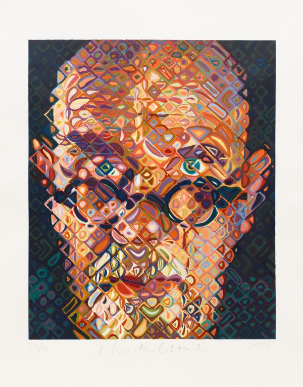 an analysis of chuck closes self portrait Chuck close analysis september 15, 2013 may 28, 2014 ~ sj self-portrait/ watercolor was painted using watercolour paint on paper mounted onto 207 x 1492 cm canvas by chuck close in 1976-1977.