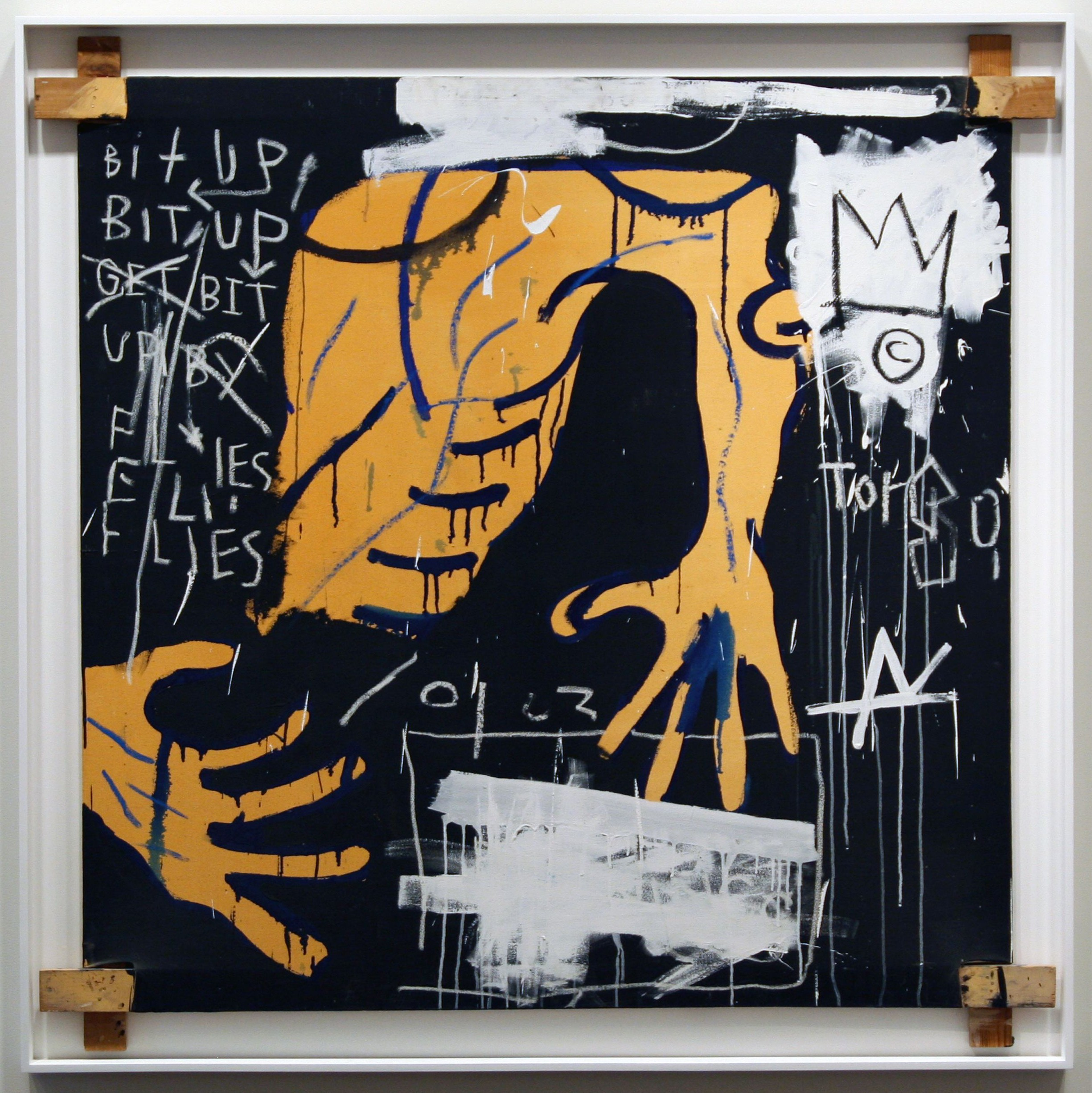 Busted Atlas 2 1982 By Jean Michel Basquiat