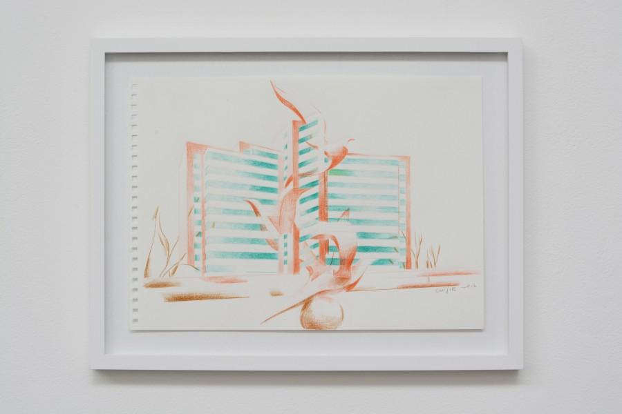 Cui Jie | Dove Houe (sketch) | Art Basel
