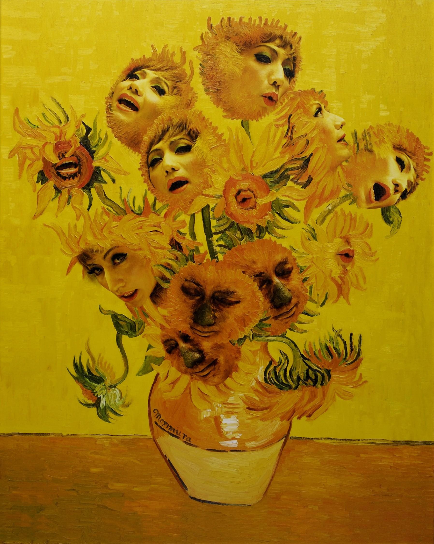 Yasuma Morimura - Singing Sunflowers (1998)