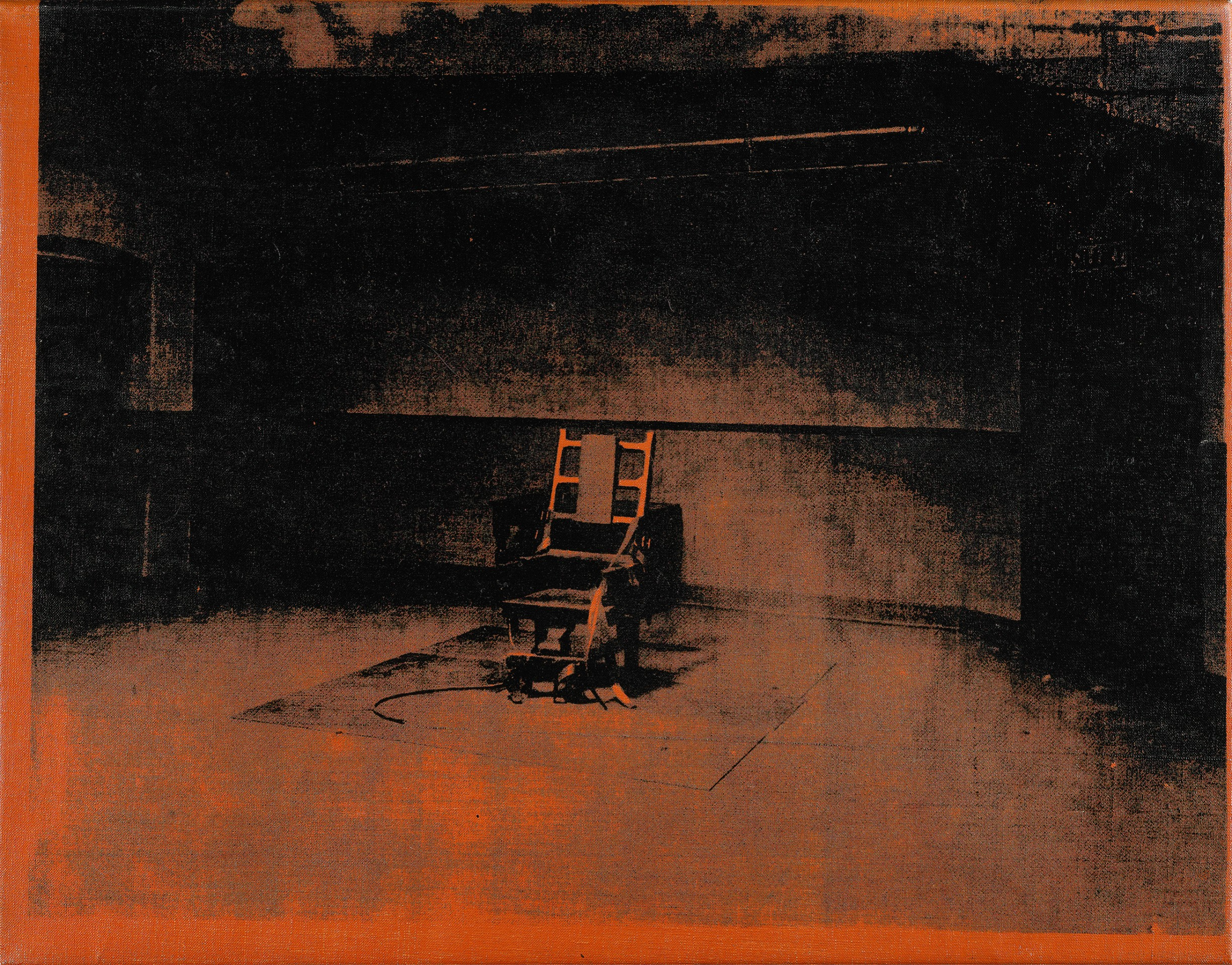 Electric chair andy warhol - Little Electric Chair 1964 1965 By Andy Warhol
