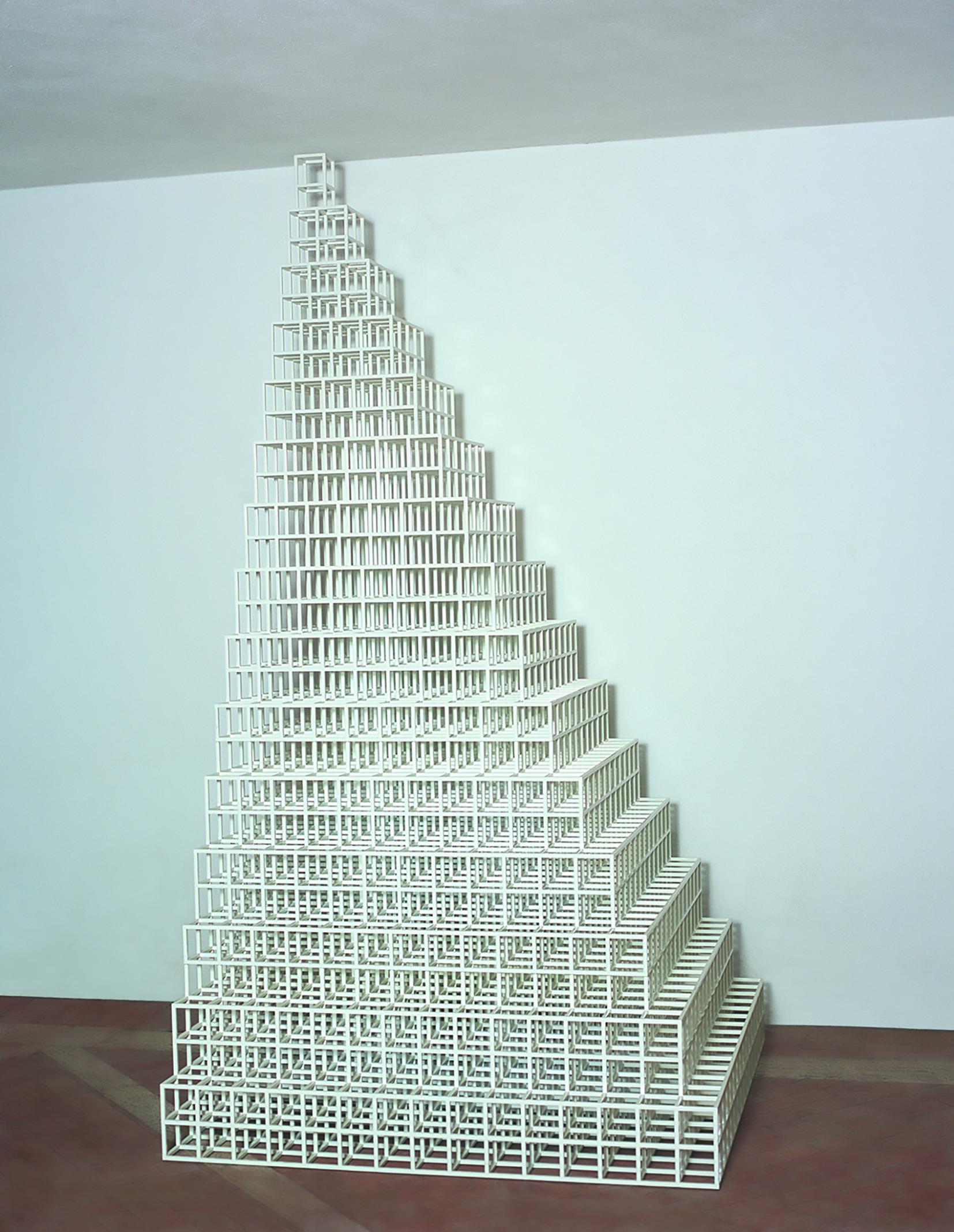 Sol Lewitt The Irregular Tower Art Basel